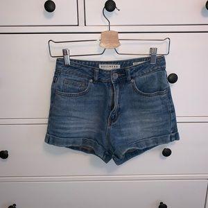 Denim Mom Shorts - Bullhead